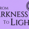 From Darkness to Light Purple